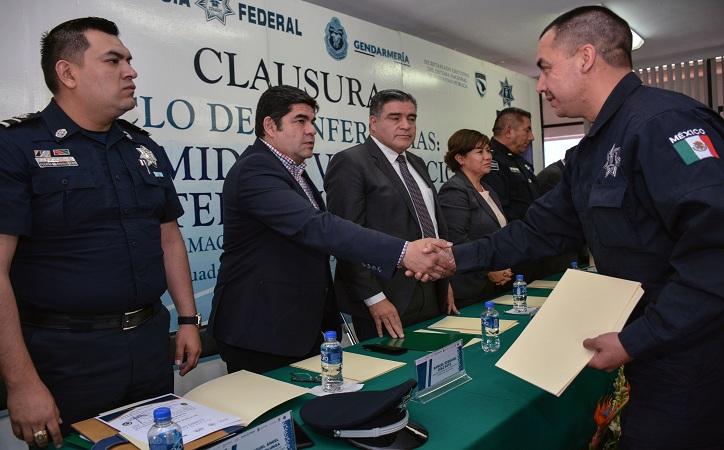 Concluyen policías municipales guadalupenses capacitación para fortalecer la proximidad social