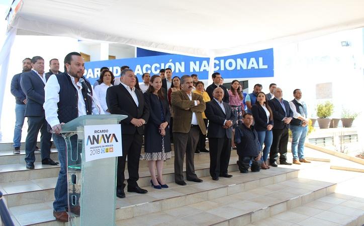 José Viramontes dirigirá equipo de campaña de Anaya en Zacatecas
