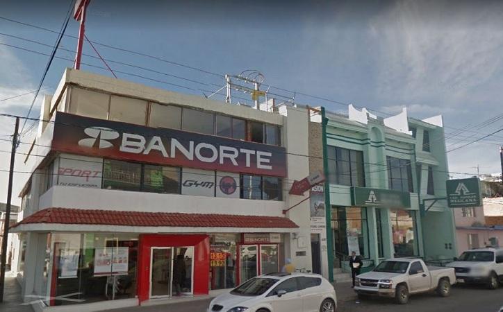 Intentan asaltar banco en Fresnillo,  frustra policía Ministerial