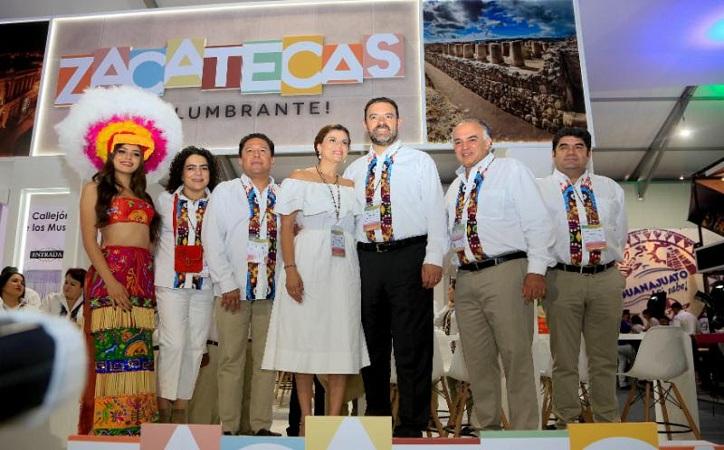 Ante inversionistas de 85 países, Tello promueve a Zacatecas como el nuevo destino turístico y de negocios en México