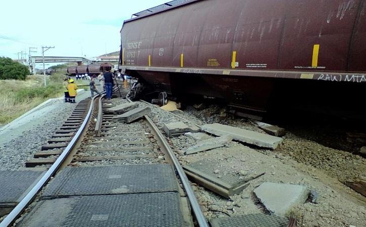 Nuevo descarrilamiento de tren en la capital