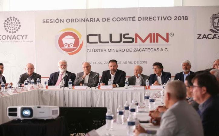 Encabezan Yello y director de Conacyt, sesión ordinaria de clúster minero de Zacatecas