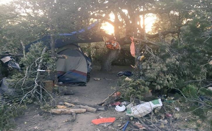 Localizan campamento del crimen organizado en Fresnillo, había 3 muertos