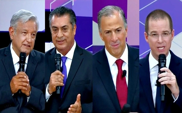 Debates: la triste exhibición de miseria de la política mexicana