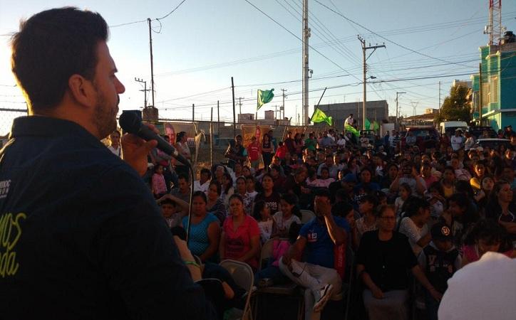 Detonar el crecimiento cultural y económico como parte de las políticas públicas propone Cuauhtémoc Calderón