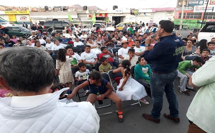 """""""Las administraciones municipales han dejado de escuchar las necesidades que existen"""": Cuauhtémoc Calderón"""