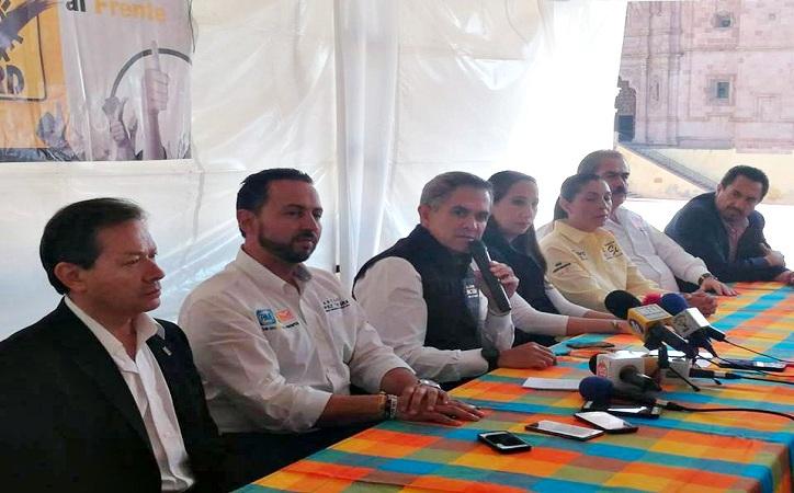 Relación de cordialidad si gana AMLO: Mancera declara en Zacatecas