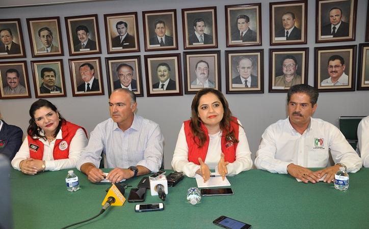 El priismo de Zacatecas está cumpliendo sus metas: Ana Lilia Herrera.