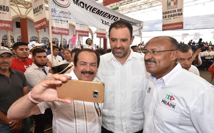 Que Meade avanza en las preferencias electorales, asegura René Juárez