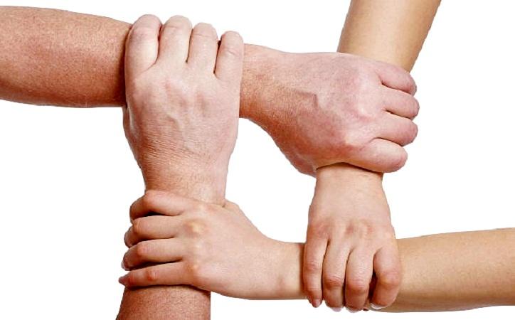 Solo hay una forma de reconstruir el tejido social, es entre todos