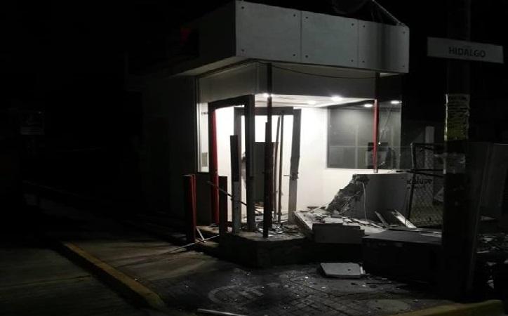 Intentan robar cajero automático en Tacoaleche