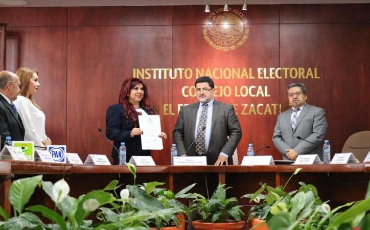 Entregan constancia a quienes serán Senadores por Zacatecas