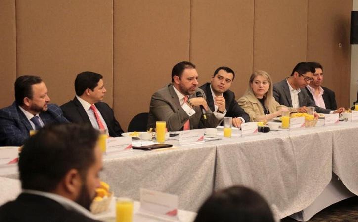 Gobierno de Tello y Colegio de Valuadores del estado trabajarán en un proyecto de ley de valuación