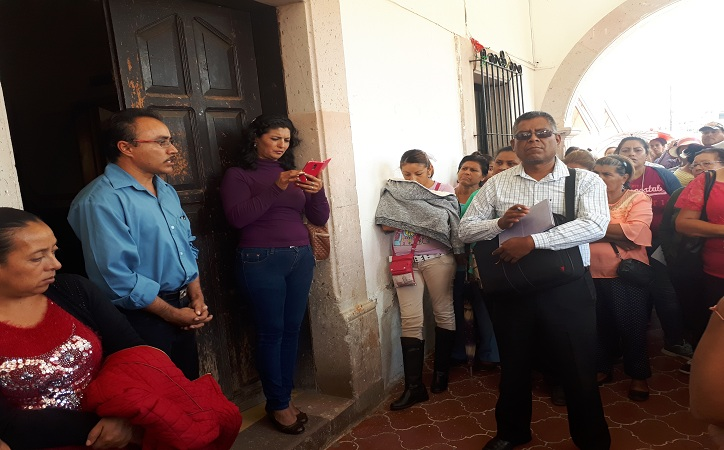 En Pánuco, antorchistas esperan el cumplimiento de Benjamín Nuñez