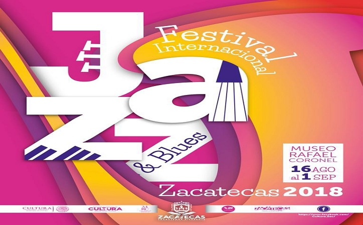Presentan programa del Festival Internacional de Jazz y Blues Zacatecas 2018