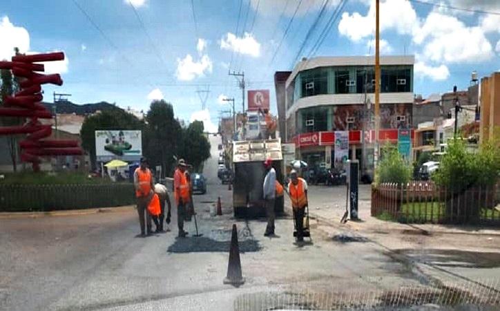 Pretende Mejía gestionar cerca de 50 millones de pesos para pavimentación y dignificación de espacios públicos