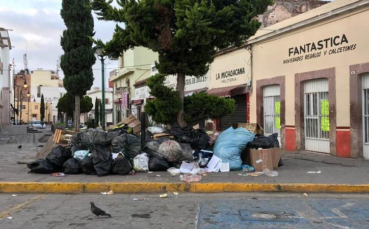 Crisis de basura en Guadalupe, llaman a no dejarla en vía pública