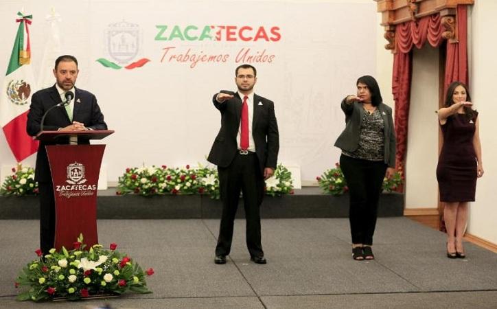 Nombra Tello nuevos cargos, Jehú Salas el nuevo secretario de Gobierno