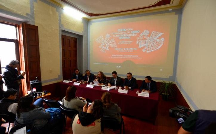 Será Zacatecas invitado en Feria Internacional del Libro de Antropología e Historia 2018
