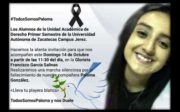 Fiscalía omitió protocolos de feminicidio en el caso de Paloma Jacaranda