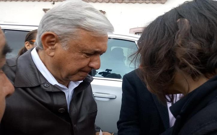 Frente a Tello, zacatecanas piden a AMLO acabar con asesinatos de mujeres