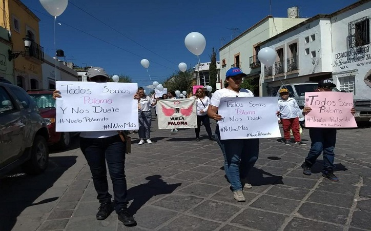 Marchan en Jerez para exigir justicia ante asesinato de Paloma Jacaranda