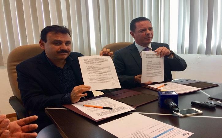 Firman convenio de colaboración UAZ y la Auditoría Superior del Estado (ASE)