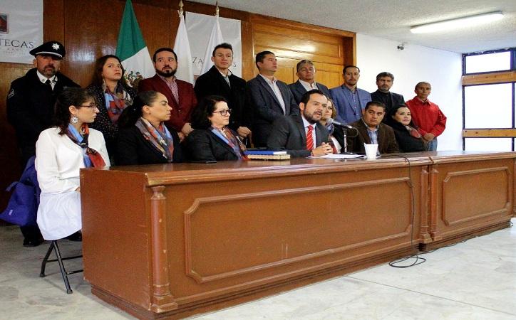 """Presenta Ulises Mejía Haro el proyecto denominado """"Más Acciones Por Un Zacatecas Patrimonio Mundial"""""""