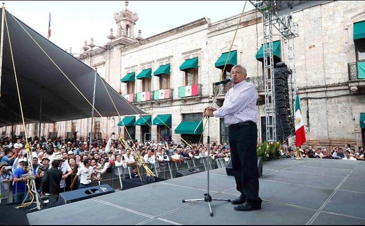 López Obrador detalla los cuatro lineamientos del presupuesto 2019