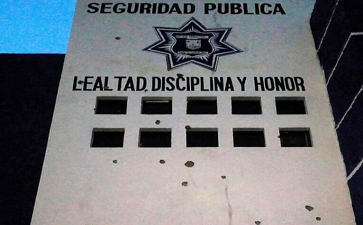 Atacan comandancia de Juan Aldama, 250 disparos contra el inmueble