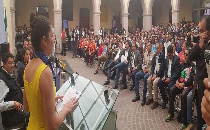 Sin deporte no puede haber Cuarta Transformación, dice Ana Guevara en Zacatecas