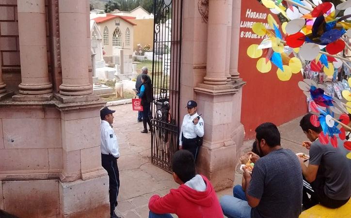 Saldo blanco en Zacatecas capital durante festividades de fieles difuntos
