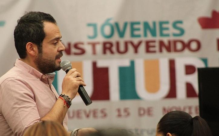 """Presenta Mejía programa denominado """"Jóvenes Construyendo el Futuro"""""""