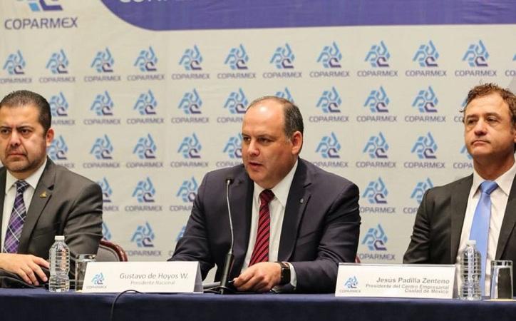 Exhorta Coparmex a Morena a no abusar de consultas