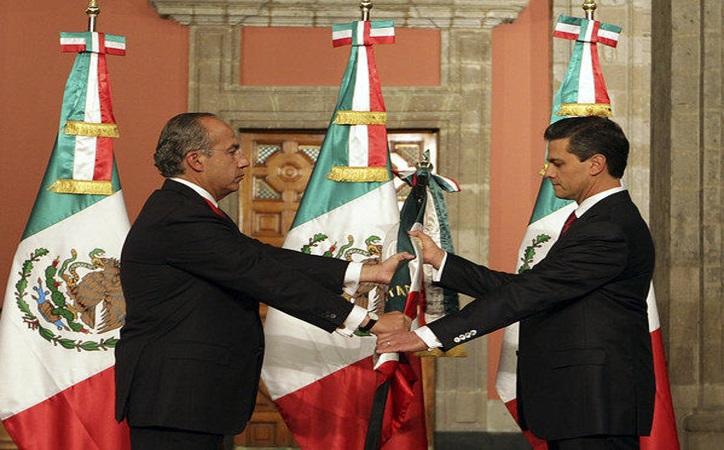 La forma en la que los presidentes en México toman posesión marca sus sexenios