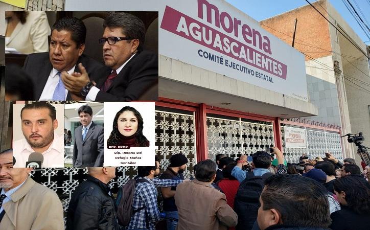 David Monreal: el desastre en Morena Aguascalientes, las relaciones familiares, priistas y en la LXIII Legislatura de Zacatecas