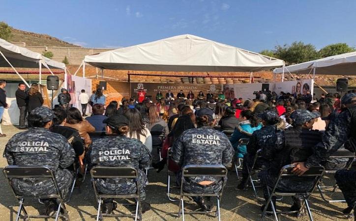 Realiza Godezac primera jornada de seguridad para mujeres y niñas