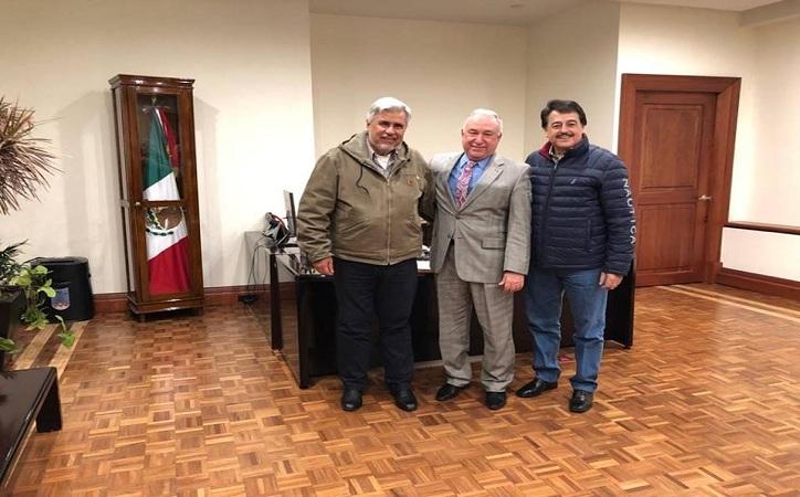 Arrancan Narro y Femat con gestiones para la educación pública en Zacatecas