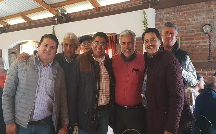 La mesa de los candidateables