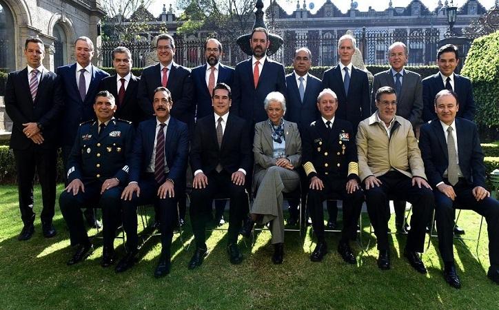 Gobernadores del PRI se alinean a Guardia Nacional; Tello respalda iniciativa que se impulsa en el Senado