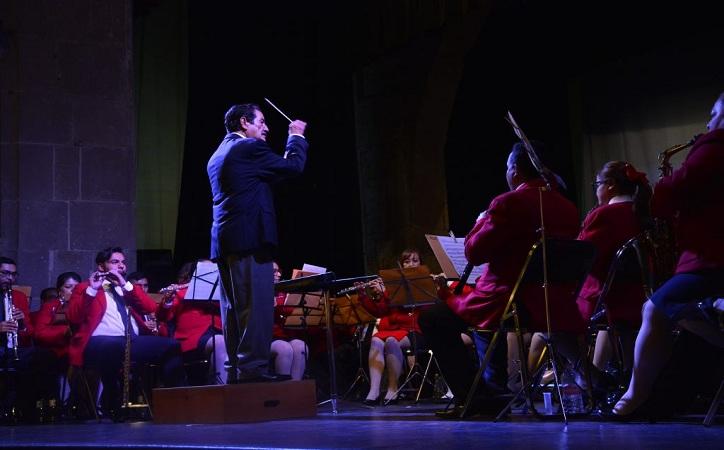 Prepara Banda Sinfónica del Estado magno concierto por su 89 aniversario