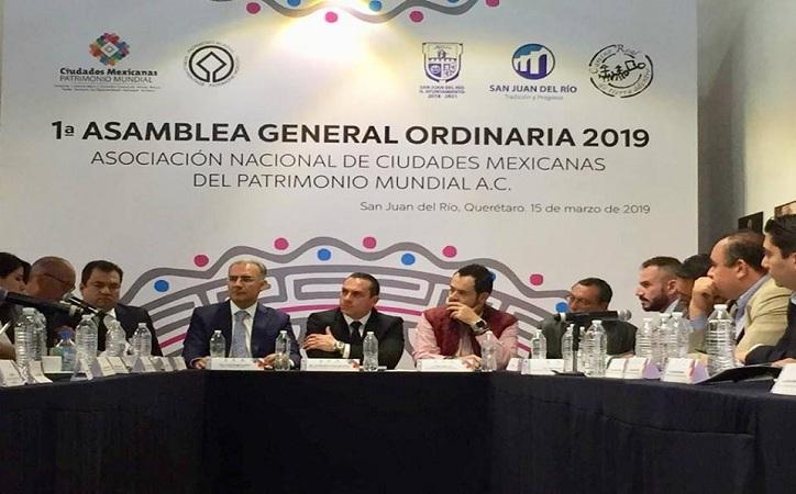 """Logra Ulises Mejía primer """"Festival de Ciudades Patrimonio Mundial"""" en el país"""