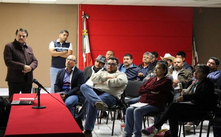 Busca Femat que más municipios zacatecanos se beneficien de los programas sociales de la Congregación Mariana Trinitaria