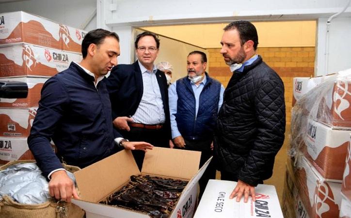 Buscará Gobernador denominación de origen de chile guajillo para Zacatecas