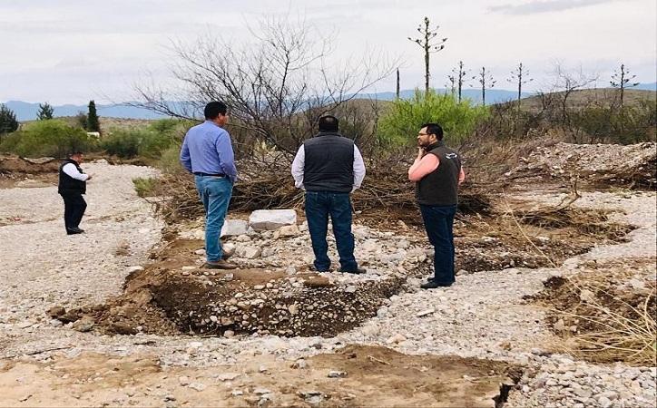 Atiende gobierno de Tello a familias afectadas por lluvia en Concepción del Oro