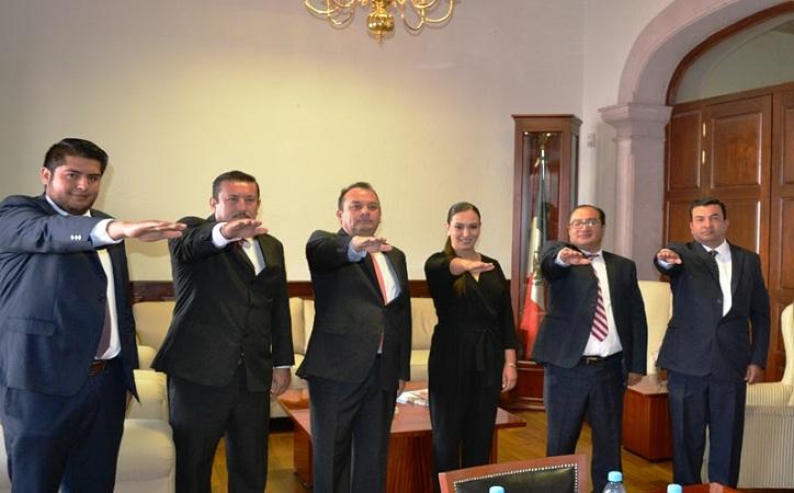 Héctor Pastor, Edgar Rivera y Guadalupe Flores entran al gobierno del estado