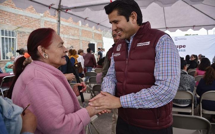 """Desarrolla Julio César Chávez programa con """"Guadalupe hasta tu casa"""""""