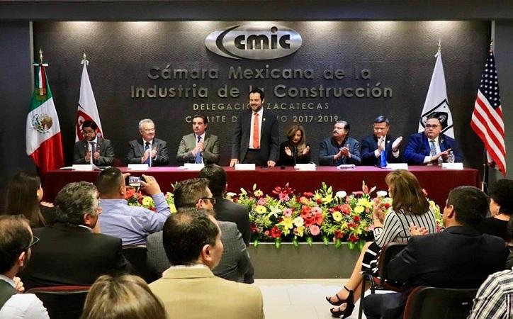 Fomenta Ulises Mejía vinculación efectiva entre cámaras de la construcción y Universidades de Zacatecas y Texas