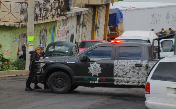 Dos muertos y un herido en colonia Mecánicos de la capital zacatecana tras balacera