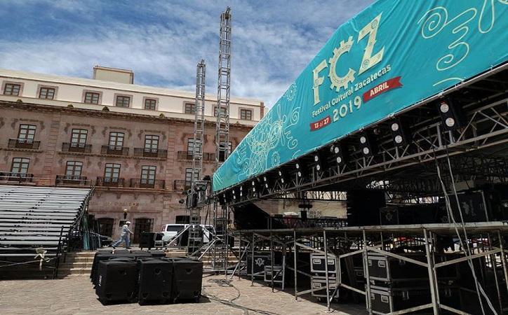 Realiza Godezac acciones de prevención en escenarios del Festival Cultural 2019